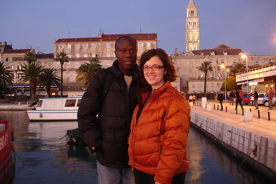 Last night in Split, Croatia